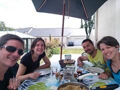 Avec Nicolas et Fabienne