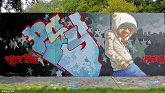 Den Haag Graffiti : PSY (Akbar Sim) Tags: psy 2hypetribe 2ht zuiderpark denhaag thehague agga holland nederland netherlands graffiti akbarsim akbarsimonse