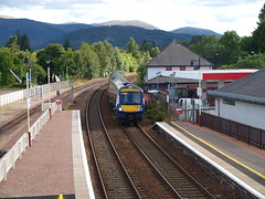 Aviemore - 21-08-2016 (agcthoms) Tags: scotland invernessshire aviemore station railways trains scotrail class170 170426