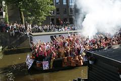 Gay Europride Amsterdam 2016 (Roelie Wilms) Tags: gaypride canalpride2016 gay europrideamsterdam2016canalpride amsterdam pink rose roze amstel