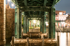 Under the Bridge (kos270) Tags: nikon disney tds tokyodisneysea bridge ironbridge landscape night light