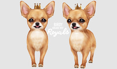 Birdy - Arcade Machine 2 - WIP (Dani @ Birdy/Foxes/Alchemy) Tags: sl secondlife wip birdy arcade chihuahua dog pet puppy royal crown