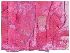 From Linda Tashker (tofuart) Tags: pink pinkweek mailart mixedmedia postcard