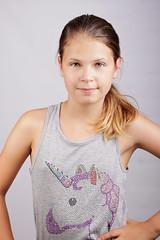 5 (fifa foto) Tags: girl studio portrait teen blonde sweet cute ponytail