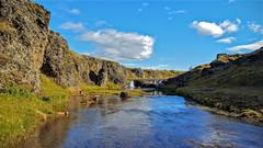 Einholtslækur (skolavellir12) Tags: outdoor water brook iceland suðurland lækur