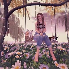 {Blog 69} My Happy Place (veronica gearz) Tags: bloggers blogger blog blogging blogs blueberry avatar avi alex addams secondlife second sl life logo maitreya mesh truth cheeky cheekypea artilleri izzies realevil whimsical floorplan jian blackbantam littlebranch