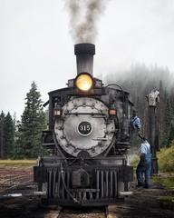 Passing It Down (Curt Bianchi) Tags: cumbres toltec scenic railroad locomotive 315 cumbrespass colorado newmexico