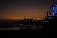 Santa Monica summers end (louiseven) Tags: pier summer endless sunset twilight dusk santamonica california ocean pacific