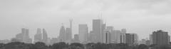 2621 - fog [day] (allanparke) Tags: bw blackandwhite toronto skyline fog rain clouds monocrome