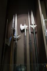 Medieval weapons (quinet) Tags: 2015 hellebarde museumofthepolisharmy muzeumwojskapolskiego poland varsovie warsaw warschau warsowa brochet halberd hallebarde pike