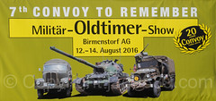 7th Convoy to Remember - Military Oldtimer Show, Birmenstorf AG, Switzerland (jag9889) Tags: convoytoremember2016 text birmenstorf cantonaargau switzerland poster outdoor 2016 europe 20160813 jag9889 ag aargau ch car convoytoremember event exhibition helvetia kantonaargau military militr oldtimer plakat schweiz show suisse suiza suizra svizzera swiss vehicle