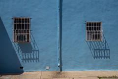 Phillyscape #4 (Alec C Miller) Tags: street color shadow landscape city cityscape urban wall texture philadelphia fine art photography