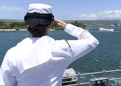 160829-N-GZ228-140 (U.S. Pacific Fleet) Tags: boxarg13meu16 ussboxerlhd4 amphibiousreadygroup 13thmarineexpeditionaryunit 13thmeu usnavy cpr1 usmarines usarmy pearlharbor hawaii usa