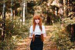 SOKL9542 (KirillSokolov) Tags: girl portrait ru russia redhead fujifilmxt1 fujifilm fujifilmru mirrorless helios 402autumn kirillsokolov2016 kirillsokolov девушка портрет россия рыжая осень гелиос беззеркалка иваново