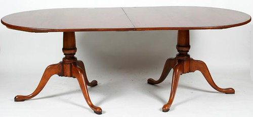 Eldred Wheeler Dining Table w/ 2 Leaves ($896.00)