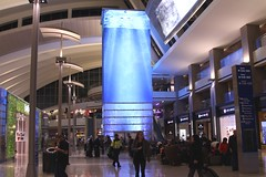 LAX Airport (Prayitno / Thank you for (11 millions +) views) Tags: konomark new lax tom bradley international departure level lounge airport los angeles ca california indoor giant digital aquarium shop shopping walking