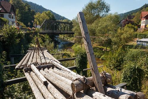 Radeaux de bateliers sur la Kinzig à Schiltach