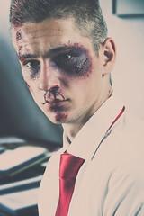 Fight Club (Daniel Bernhart) Tags: bruised blood sweat nikond3 fightclub