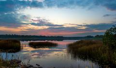 Lake Midtsj,  September in Norway (NWS Photography) Tags: aftersunset sunset lake nature innsj midtsj follo ski nwsphoto
