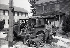 57th Infantry Brigade 600dpi 037 (rich701) Tags: vintage old negatives ww2 military 1940s blackandwhite worldwartwo bw 44thinfantrydivision newjerseynationalguard 57thinfantrybrigade ng njng fortdix nationalguard newjersey nj njarng