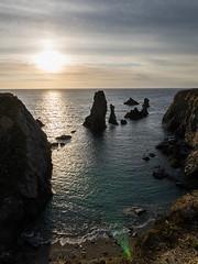 Aiguilles de Port-Coton (Clem Belleudy) Tags: paysage landscape bellele sea atlantique aiguillesdeportcoton ciel sunset bretagne coast cte mer bangor france fr