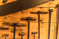 TOOLS OF THE TRADE (Wade.J.) Tags: saw bit drill tools tool old antique museum change islands tamron2875