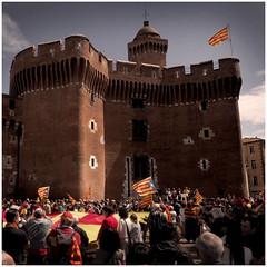 Catalunya (harry ray) Tags: catalans juinbon languedocroussillon occitanie regions castillet identite perpignanperpignan pyreneesorientalespyreneesori francefrance pyreneesorientalespyreneesorientales