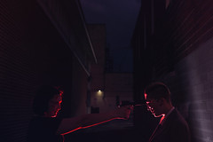 Matt Murdock/Daredevil & Punisher | Daredevil (Marchioni Photography) Tags: marchioni daredevil netflix cosplay marchioniphotography portrait night day light colour hero antihero marvel comic portraiture devil dare costume model christinamarchioniphotography ldnont city fight punisher mattmurdock lawyer villian cosplayer gun weapon blind sight skull glasses comicbook scene art concept imagination