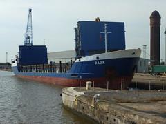 Boaty mcboat face (seanofselby) Tags: face port ships cranes boaty goole mcboat