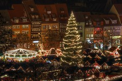 Erfurt Weihnachtsmarkt (Ralf Krause) Tags: christmas old longexposure travel winter holiday church colors night germany weihnachten deutschland eos thringen europa europe flickr advent nightshot cathedral nacht erfurt alt dom details urlaub kirche eu christmasmarket weihnachtsmarkt thuringia altstadt oldtown ferien hdr oldbuilding oldcity 2012 reise farben nachtaufnahme langzeitbelichtung cathedralsquare domplatz longtermexposure photomatix oldchurches altegebude landeshauptstadt hdrpictures hdrbilder worldofdetails canoneos600d ralfkrause hdrworlds worldofdetailsawardgrouplevel1bronze