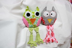 owl12 (sewinluv) Tags: sewing fabric owl quilting pincushion applique