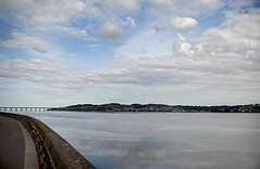River Tay and the Tay Road Bridge - Curves and Reflections (Magdalen Green Photography) Tags: scotland riverside rivertay dundee scottish tayside tayroadbridge coolcurves iaingordon dundeewestend magdalengreenphotography curvesandreflections
