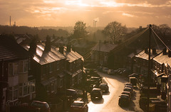 Suburbia....... (Chrisconphoto) Tags: town view sthelens merseyside loftwindow