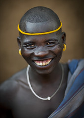 Smiling Bodi Tribe Man, Hana Mursi, Omo Valley, Ethiopia (Eric Lafforgue) Tags: africa portrait people haircut color art beauty smile smiling vertical proud outside photography necklace clothing colorful day outdoor traditional culture happiness pride jewelry tribal ornament adobe omovalley tradition ethiopia tribe pastoral ethnic hairstyle bodymodification oneperson headband jewel onepeople determination confidence traditionalculture headwear hornofafrica ethnology bodi omo eastafrica toothysmile onepersononly traditionalclothing realpeople colorimage lookingatcamera beautify meen waistup africanethnicity pastoralist pastoralism snnpr bodytransformation oneadult southernnationsnationalitiesandpeoplesregion ethiopianethnicity hanamursi eth7596