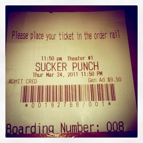 Sucker Punch ticket