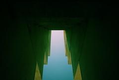 The gate. (ADIDA FALLEN ANGEL) Tags: sky blackandwhite abstract nature outside israel nikon d40