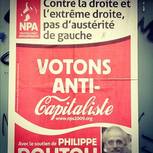 """Vote anti-capitalists!"""