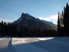 Mt Rundle winter (benlarhome) Tags: canada nationalpark alberta banff mountrundle rundle mtrundle