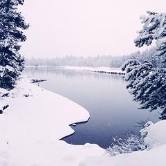 Winterland | Sunriver | Oregon (jc_iverson (Imagery by Jordan)) Tags: by jordan imagery iphone iphoneography instagram