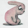 "Sad Pink Bunny Cropped • <a style=""font-size:0.8em;"" href=""http://www.flickr.com/photos/34168315@N00/8297800730/"" target=""_blank"">View on Flickr</a>"