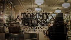 Waiting @ Tommy Guns (Giuseppe Iasilli (Wepepp)) Tags: street ladies england haircut london window shop 35mm waiting tommy taglio salone barber di salon guns vetrina londra gents capelli barbiere nikonclubit