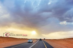 طريق البر (3) (Ebtehal Ibrahim) Tags: canon البر عنيزة الغضا