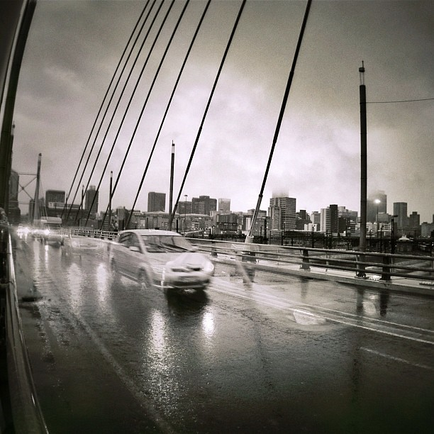 Nelson Mandela Bridge #perspectivepie #effic #thereareghosts...