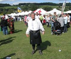 Bridge of Allan Highland Games (cessna152towser) Tags: scotland kilt highlandgames saltire bridgeofallan