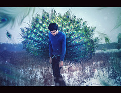 The Lives We've Led And The Dreams We've Left. (| Jared Tyler) Tags: portrait white snow motion cold green bird colors composition photoshop self nose photography hope frozen photo eyes hands colorful december day mood glow moody sad expression magic feathers teens peacock tyler neighborhood talent artists mind teenager kalamazoo conceptual cinematic markii vibrance tumblr 5dmarkii artistsontumblr jaredinthebox jaredtylerphotography