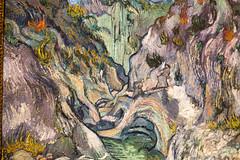 Ravine by Van Gogh (Carmela Quintana) Tags: mfa ravine vangogh vincentvangogh bostonmfa frenchimpressionism