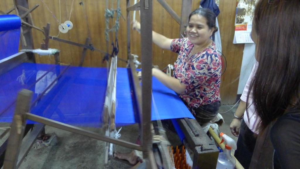 Chiang Mai Silk Factory Tour