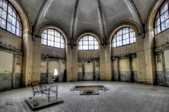 The bathhouse (Michis Bilder) Tags: abandoned places hdr beelitz heilsttten
