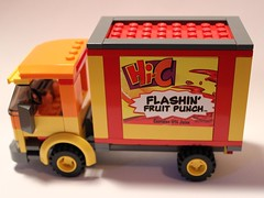 LEGO Hi-C Truck (notenoughbricks) Tags: lego sprite coke dietcoke cocacola hic therealthing legocity legotruck legomoc legodeliverytruck legosoda legosodatruck