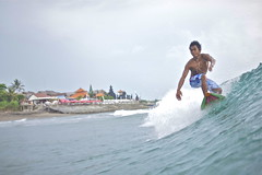 Local talent (jeremyhughes) Tags: sea bali beach sport indonesia surf action surfer wave surfing echobeach ocea panc waterhousing 10bar panasonicgf1 20mmf17asph